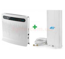 Комплект 4G WiFi роутер Huawei B593 + Mimo антенна