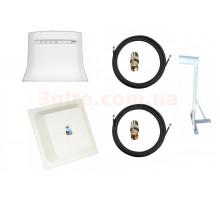 Комплект 3G/4G WiFi роутер ZTE MF283U+MIMO антенна панельная 15 ДБи+ Кронштейн
