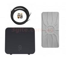 3G/4G WiFi роутер Alcatel Linkhub Home Station HH42CV  и  комплект MIMO RunBit на 16  ДБ
